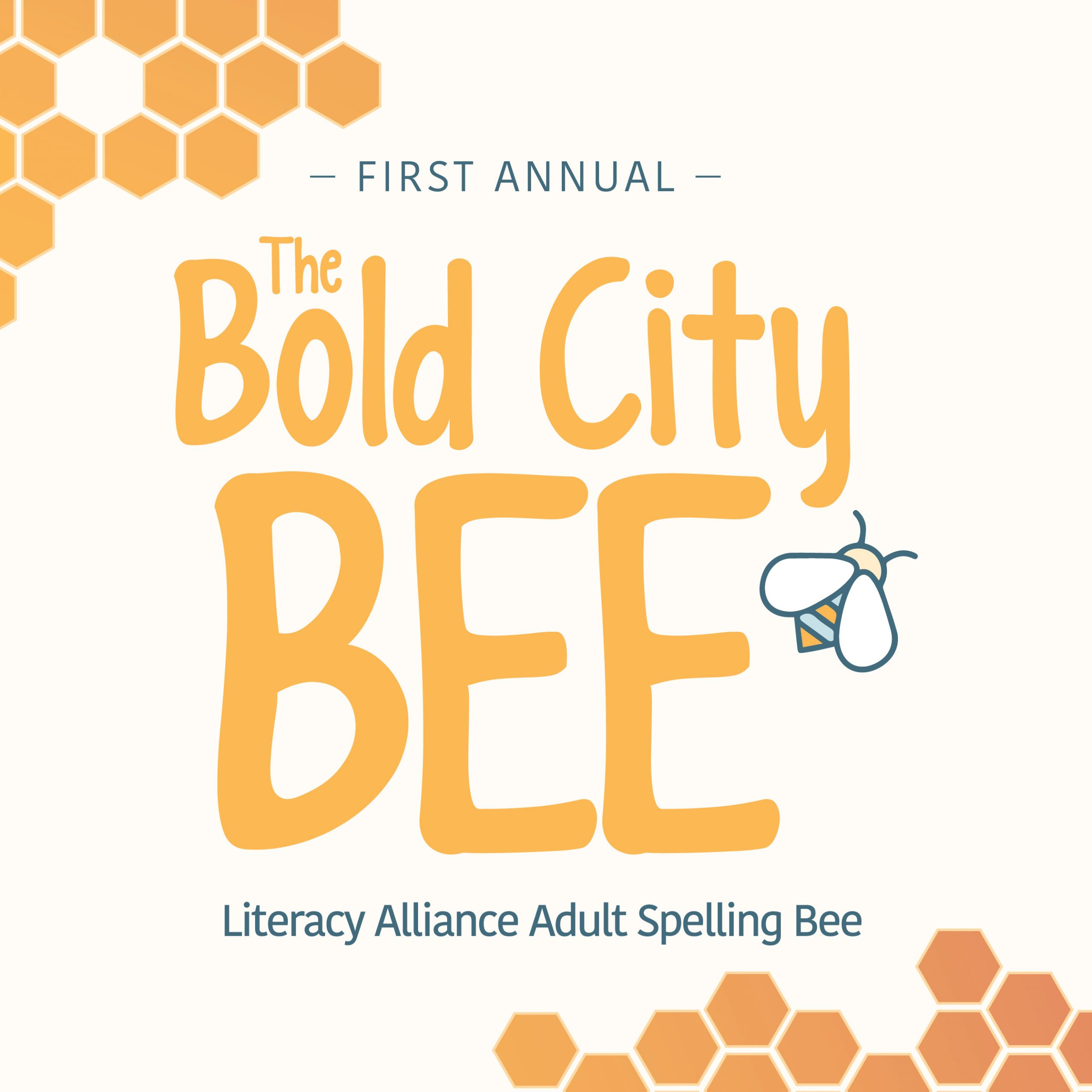 First Annual: The Bold City Bee – A Literacy Alliance Adult Spelling Bee